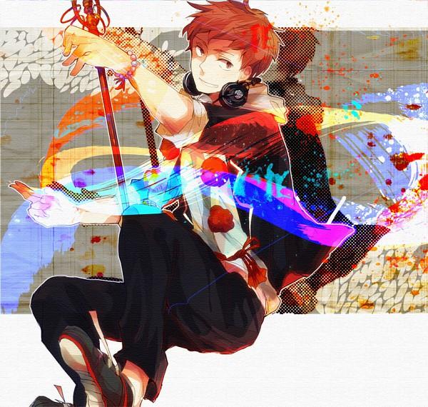 Tags: Anime, Pixiv Id 908624, Ao no Exorcist, Shima Renzou, Pixiv, Fanart