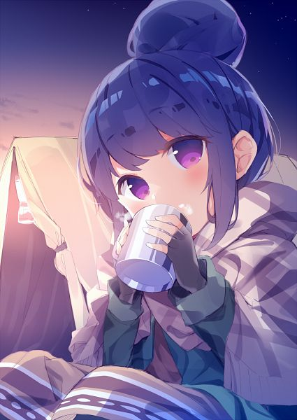 Tags: Anime, Pixiv Id 5991282, Yuru Camp, Shima Rin