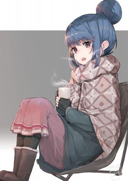 Tags: Anime, Pixiv Id 3185949, Yuru Camp, Shima Rin, Fanart From Pixiv, Pixiv, Fanart