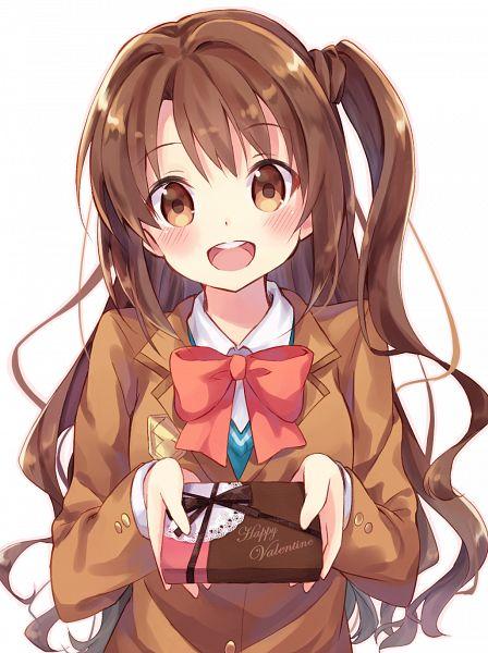 Tags: Anime, nonono*, THE iDOLM@STER: Cinderella Girls, Shimamura Uzuki, PNG Conversion, Mobile Wallpaper