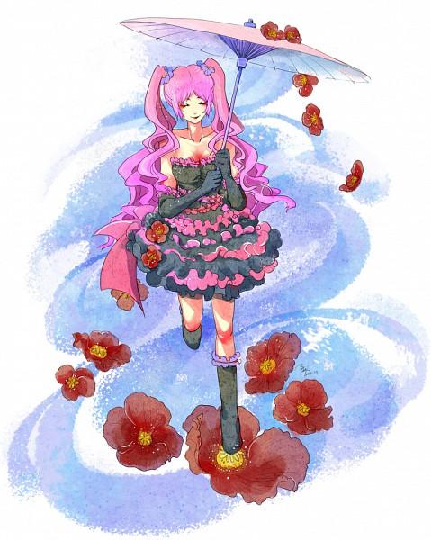 Tags: Anime, Shiki, Shimizu Megumi, Anemone (Flower)