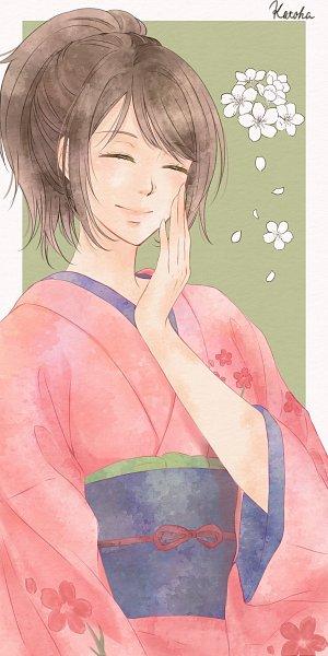 Tags: Anime, Pixiv Id 13142606, Gintama, Shimura Tae, Fanart From Pixiv, Pixiv, Fanart