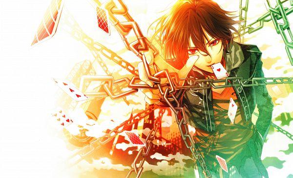 Tags: Anime, Hanamura Mai, IDEA FACTORY, AMNESIA, Shin (AMNESIA), Card Game, Scan, Wallpaper, Official Art