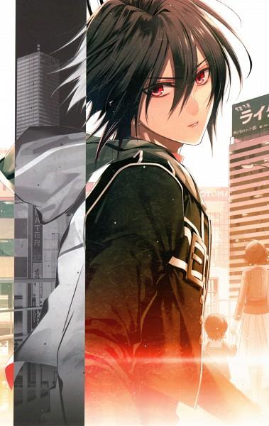 Tags: Anime, Hanamura Mai, IDEA FACTORY, AMNESIA, Shin (AMNESIA), Official Art, Mobile Wallpaper, Scan