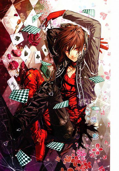 Tags: Anime, Hanamura Mai, AMNESIA, Shin (AMNESIA), Mobile Wallpaper, Scan, Official Art