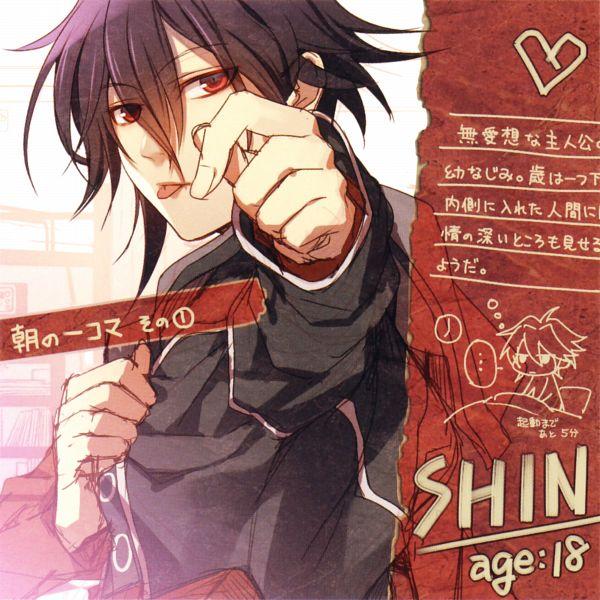 Tags: Anime, Hanamura Mai, AMNESIA, Shin (AMNESIA), Official Art, Self Scanned, Scan