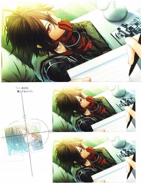 Tags: Anime, Hanamura Mai, IDEA FACTORY, AMNESIA, Shin (AMNESIA), Self Scanned, Scan, Official Art, CG Art