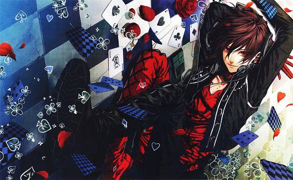 Tags: Anime, Hanamura Mai, IDEA FACTORY, AMNESIA, Shin (AMNESIA), Scan, Official Art, Wallpaper, Self Scanned