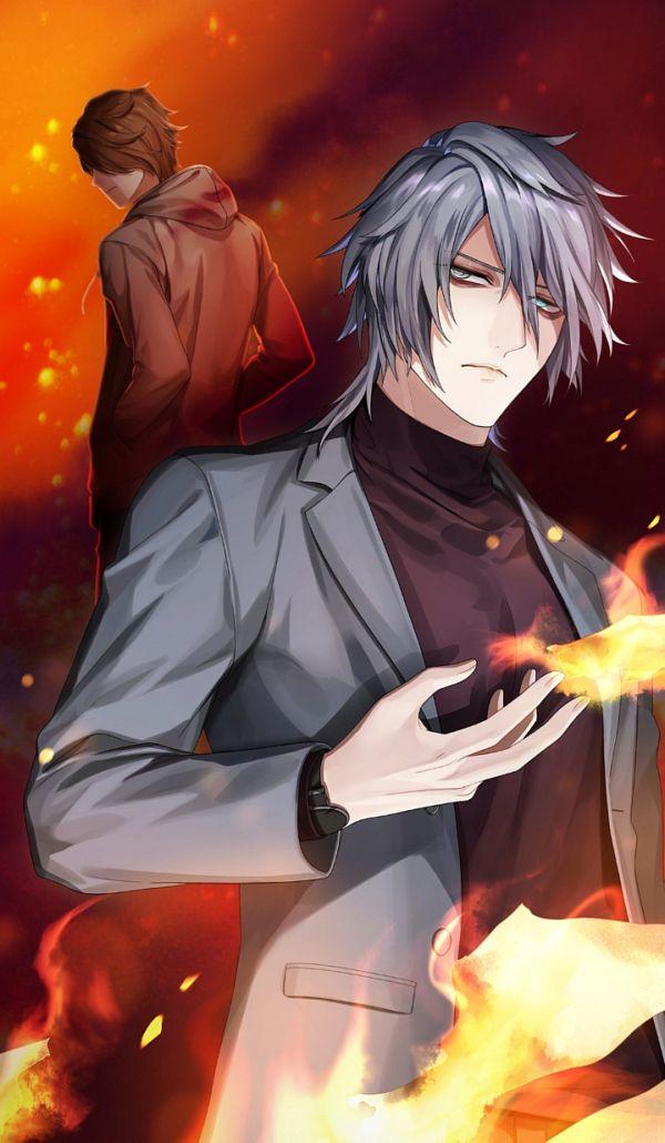 Tags: Anime, Blackstar -Theater Starless-, Shin (Black Star), Official Card Illustration, Official Art