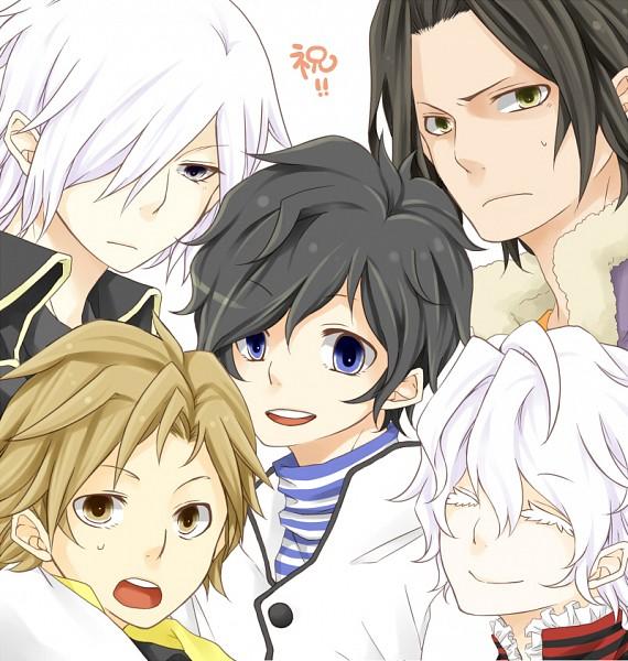 Tags: Anime, Pixiv Id 3239010, Shin Megami Tensei: Devil Survivor 2, Hotsuin Yamato, Kuze Hibiki, Alcor, Kuriki Ronaldo, Shijima Daichi