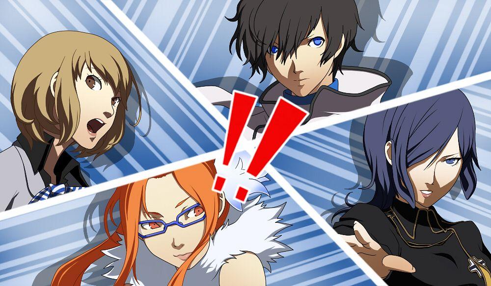 Tags: Anime, Kamakiri, Shin Megami Tensei: Devil Survivor 2, Sako Makoto, Kujou Hinako, Kuze Hibiki, Nitta Io, Persona (Parody)