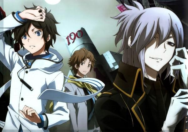 Tags: Anime, Bridge (Studio), Shin Megami Tensei: Devil Survivor 2, Shijima Daichi, Hotsuin Yamato, Kuze Hibiki, Scan, Official Art