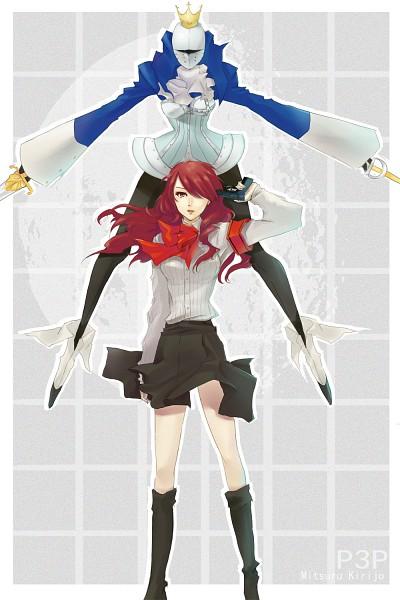 Tags: Anime, Pixiv Id 1078848, Shin Megami Tensei: PERSONA 3, Kirijou Mitsuru, Penthesilea, Monzuki, Fanart From Pixiv, Fanart, Pixiv