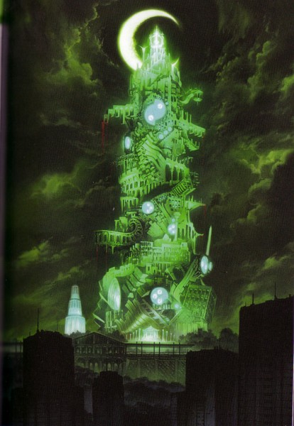 Tags: Anime, Soejima Shigenori, Shin Megami Tensei: PERSONA 3, Dark Hour, Tower