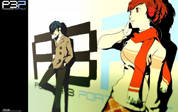 Tags: Anime, Persona 3 Portable, Shin Megami Tensei: PERSONA 3, Female Protagonist (PERSONA 3), Yuuki Makoto (PERSONA 3), Official Art