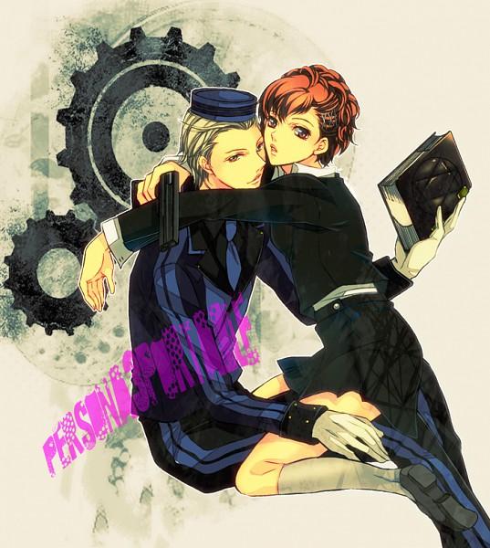 Tags: Anime, Nishi Juuji, Persona 3 Portable, Shin Megami Tensei: PERSONA 3, Theodore, Female Protagonist (PERSONA 3), Evoker, Velvet Room, Pixiv