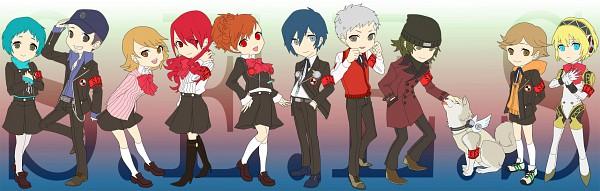 Tags: Anime, Persona 3 Portable, Shin Megami Tensei: PERSONA 3, Iori Junpei, Amada Ken, Aragaki Shinjirou, Aegis, Sanada Akihiko, Yamagishi Fuuka, Koromaru, Kirijou Mitsuru, Female Protagonist (PERSONA 3), Takeba Yukari