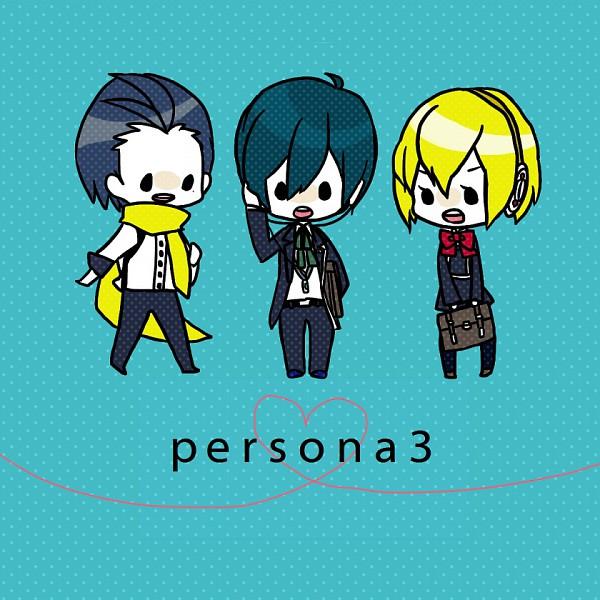 Tags: Anime, Natu (Pixiv 672165), Shin Megami Tensei: PERSONA 3, Mochizuki Ryoji, Yuuki Makoto (PERSONA 3), Aegis, Pixiv