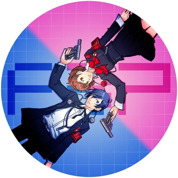 Tags: Anime, Persona 3 Portable, Shin Megami Tensei: PERSONA 3, Yuuki Makoto (PERSONA 3), Female Protagonist (PERSONA 3), Evoker, Artist Request