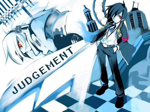Tags: Anime, Ushiki Yoshitaka, Shin Megami Tensei: PERSONA 3, Messiah (PERSONA), Yuuki Makoto (PERSONA 3), Wallpaper