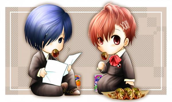 Tags: Anime, Pixiv Id 139094, Persona 3 Portable, Shin Megami Tensei: PERSONA 3, Yuuki Makoto (PERSONA 3), Female Protagonist (PERSONA 3), Pixiv