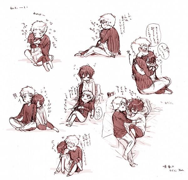 Tags: Anime, Pixiv Id 414844, Shin Megami Tensei: PERSONA 3, Sanada Akihiko, Yuuki Makoto (PERSONA 3)