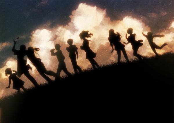 Tags: Anime, Pixiv Id 328229, Shin Megami Tensei: PERSONA 4, Kuma, Shirogane Naoto, Tatsumi Kanji, Satonaka Chie, Doujima Nanako, Narukami Yu, Amagi Yukiko, Hanamura Yousuke, Kujikawa Rise, Fanart