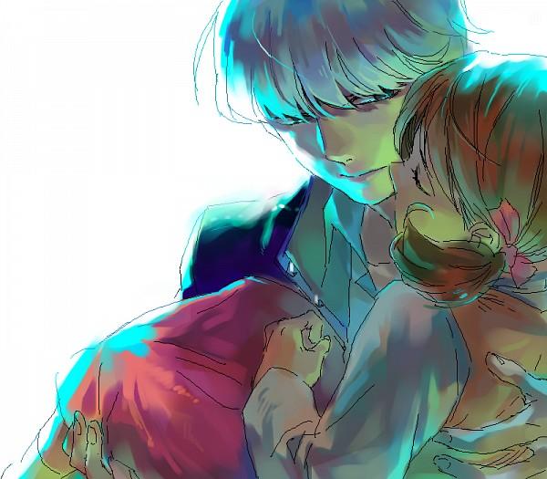 Tags: Anime, Cybastersm, Shin Megami Tensei: PERSONA 4, Narukami Yu, Doujima Nanako, Cousins