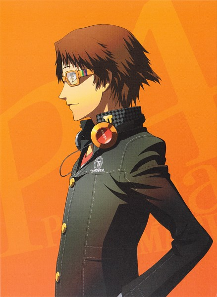 Tags: Anime, Soejima Shigenori, Shin Megami Tensei: PERSONA 4, Hanamura Yousuke, Scan, Official Art