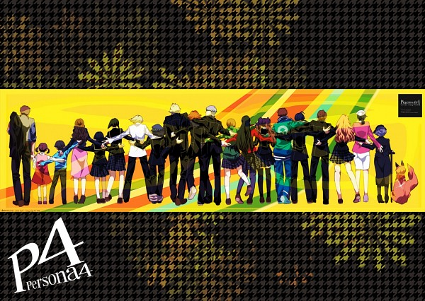 Tags: Anime, Pixiv Id 2991547, Shin Megami Tensei: PERSONA 4, Shirogane Naoto, Ebihara Ai, Konishi Naoki, Tatsumi Kanji, Matsunaga Ayane, Doujima Ryoutarou, Fox (Persona 4), Uehara Sayoko, Nakajima Shu, Satonaka Chie