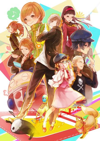 Tags: Anime, Pekopekotaro, Shin Megami Tensei: PERSONA 4, Kuma, Shirogane Naoto, Tatsumi Kanji, Satonaka Chie, Doujima Nanako, Narukami Yu, Fox (Persona 4), Amagi Yukiko, Hanamura Yousuke, Kujikawa Rise
