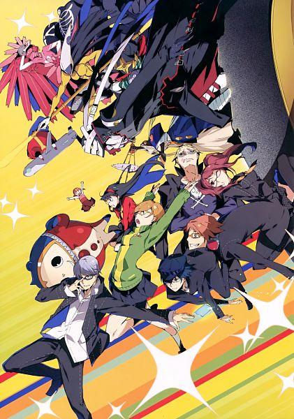 Tags: Anime, G Yuusuke, Shin Megami Tensei: PERSONA 4, Satonaka Chie, Narukami Yu, Amagi Yukiko, Doujima Nanako, Kujikawa Rise, Hanamura Yousuke, Shirogane Naoto, Kuma, Tatsumi Kanji, Mobile Wallpaper