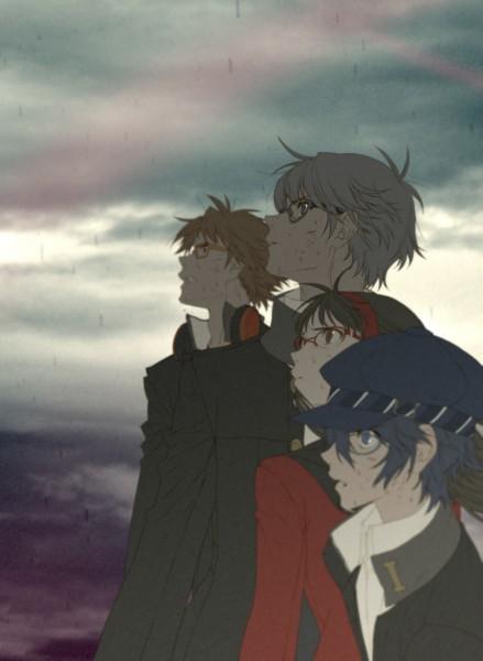 Tags: Anime, S.R, Shin Megami Tensei: PERSONA 4, Amagi Yukiko, Hanamura Yousuke, Narukami Yu, Shirogane Naoto