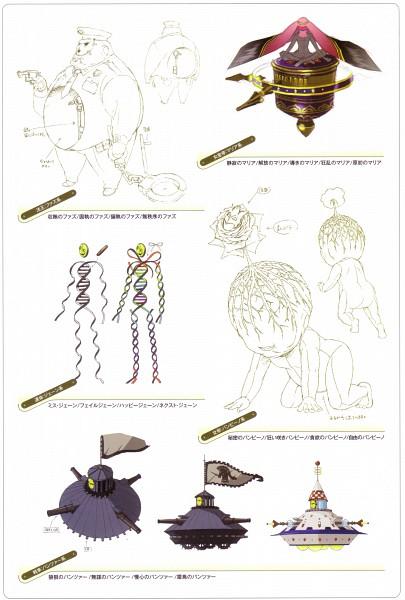 Tags: Anime, Soejima Shigenori, Atlus, P4 Official Design Works, Shin Megami Tensei: PERSONA 4, Character Sheet, Official Art