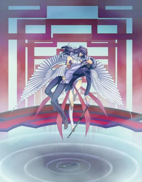 Tags: Anime, Eeteru, Shin Megami Tensei: PERSONA 4, Narukami Yu, Izanami