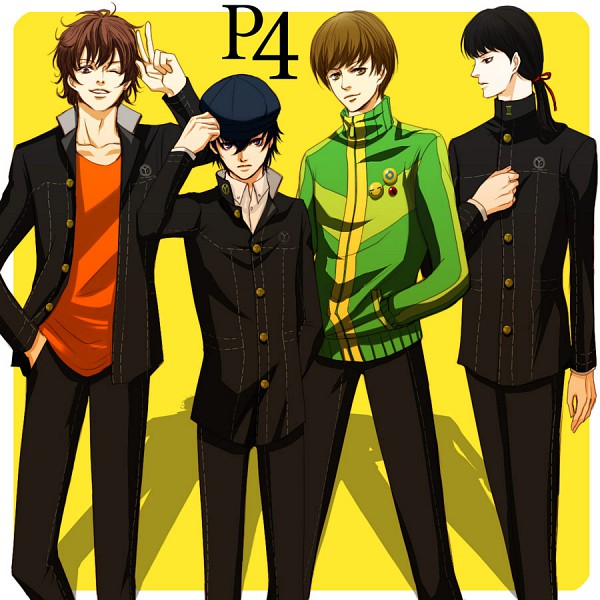 Tags: Anime, Pixiv Id 139502, Shin Megami Tensei: PERSONA 4, Satonaka Chie, Amagi Yukiko, Kujikawa Rise, Shirogane Naoto