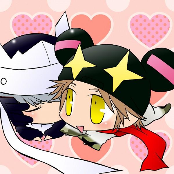 Tags: Anime, Shin Megami Tensei: PERSONA 4, Jiraiya (Persona), Hanamura Yousuke, Izanagi, Narukami Yu