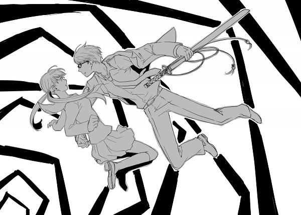 Tags: Anime, Shin Megami Tensei: PERSONA 4, Narukami Yu, Doujima Nanako