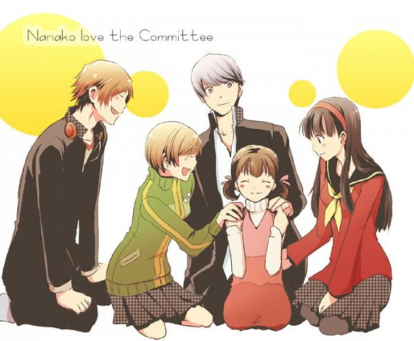 Tags: Anime, Shin Megami Tensei: PERSONA 4, Amagi Yukiko, Doujima Nanako, Hanamura Yousuke, Narukami Yu