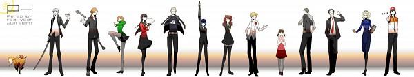 Tags: Anime, Shin Megami Tensei: PERSONA 4, Tatsumi Kanji, Shirogane Naoto, Adachi Tohru, Narukami Yu, Doujima Nanako, Izanami, Fox (Persona 4), Satonaka Chie, Hanamura Yousuke, Margaret (PERSONA 4), Amagi Yukiko