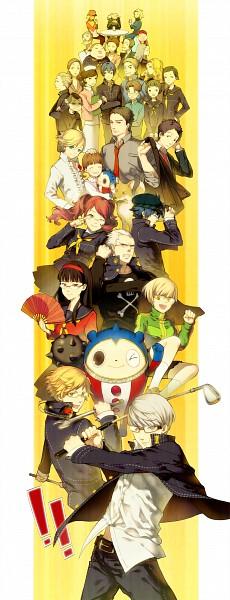 Tags: Anime, Conronca, Shin Megami Tensei: PERSONA 4, Tatsumi Kanji, Konishi Saki, Konishi Naoki, Satonaka Chie, Adachi Tohru, Izanami, Ichijo Kou, Kashiwagi Noriko, Amagi Yukiko, Doujima Nanako