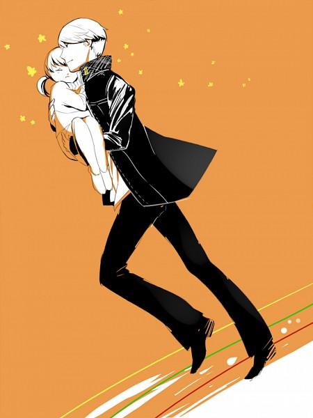 Tags: Anime, Slee, Shin Megami Tensei: PERSONA 4, Doujima Nanako, Fanart, Pixiv