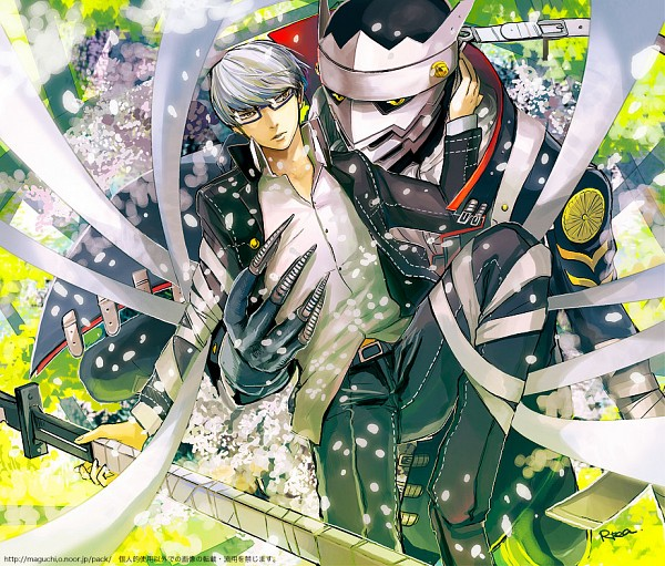 Tags: Anime, Maguchimo, Shin Megami Tensei: PERSONA 4, Narukami Yu, Izanagi