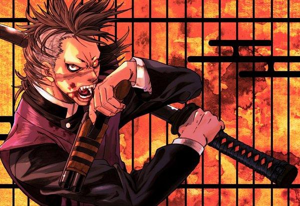 Tags: Anime, Pixiv Id 26412992, Kimetsu no Yaiba, Shinazugawa Genya, Genya Shinazugawa