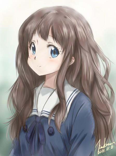 Tags: Anime, Kem Kem, Kyoukai no Kanata, Shindou Ai, Fanart From Pixiv, Pixiv, Fanart