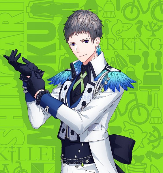 Tags: Anime, Yukihiro Utako, MAGES., B-Project, Shingari Miroku, Adjusting Gloves, B-Project: Kaikan*Everyday, Official Art