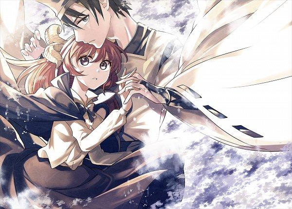 Tags: Anime, Katayama Kei, Touhou, Shingyoku, Bridal Gauntlets, Black Cape, Fanart, PC-98 Touhou Era, Pixiv, Fanart From Pixiv