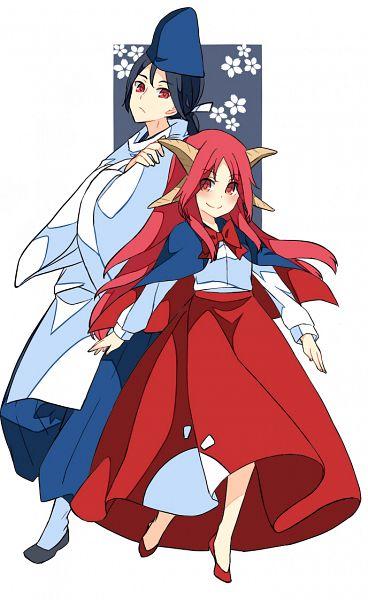Tags: Anime, Haya Taro Pochi, Touhou, Shingyoku, Fanart, PC-98 Touhou Era, Nico Nico Douga