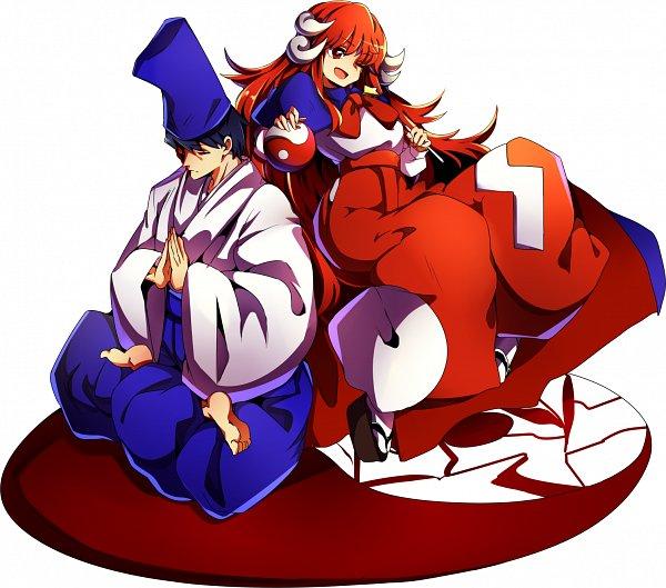 Tags: Anime, Pixiv Id 3422465, Touhou, Shingyoku, Yin Yang (Symbol), PC-98 Touhou Era, Twitter
