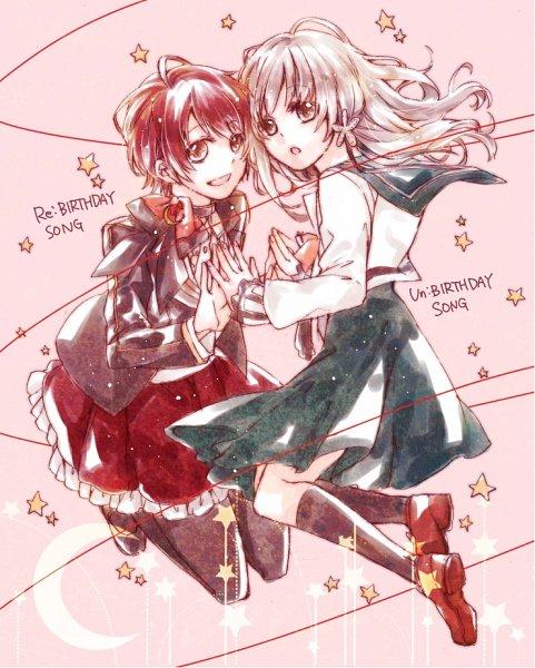 Tags: Anime, Pixiv Id 354140, Shinigami Kareshi Series, Kanno Hotori, Cocoro (Shinigami Kareshi), Fanart